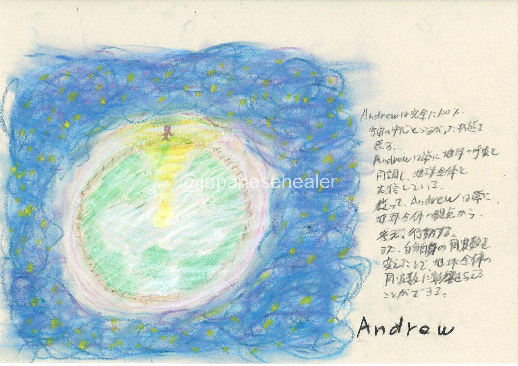 meaning of the name Andrew by Name vibration art