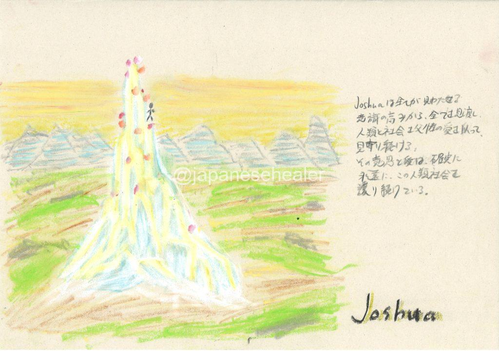 meaning of the name Joshua by Name vibration art
