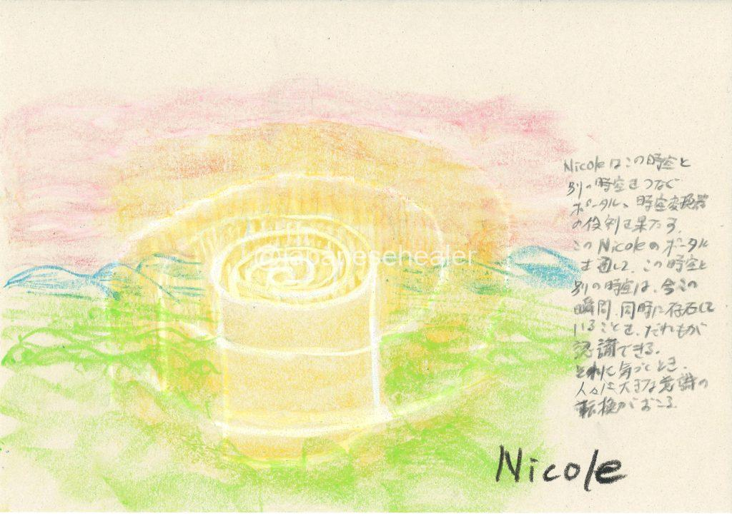 meaning of the name Nicole by Name vibration art