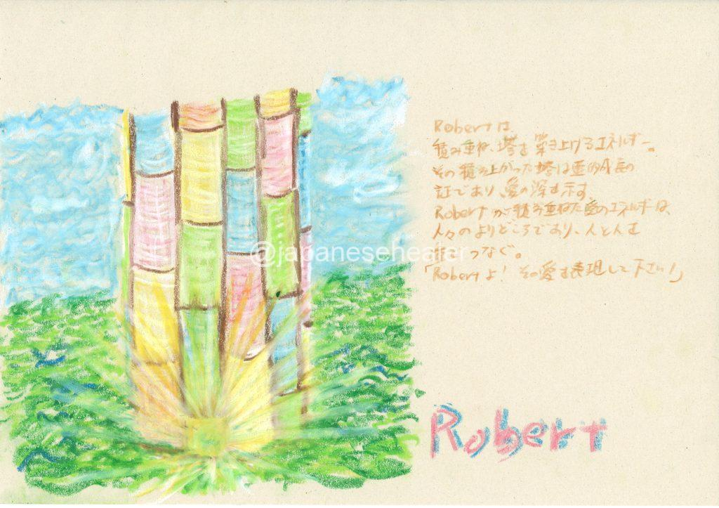 meaning of the name Robert by Name vibration art