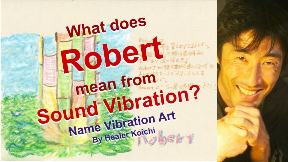What is the name Robert, meaning by Name Vibration?