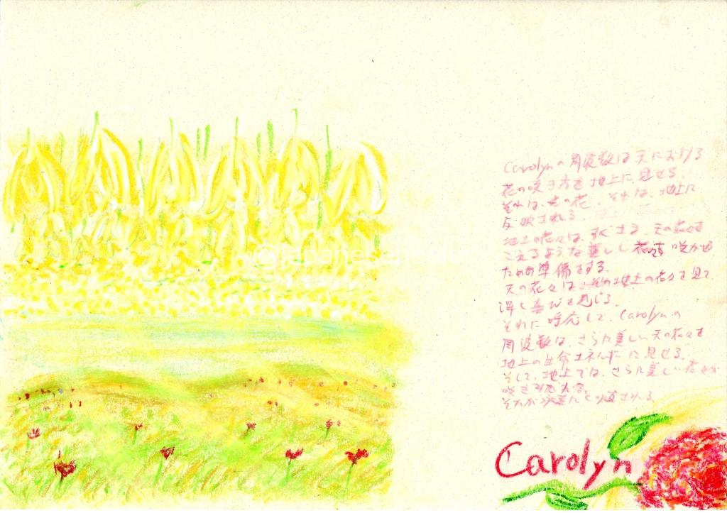 meaning of the name carolyn by Name vibration art
