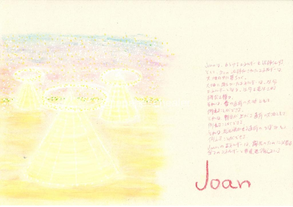 meaning of the name Joan by Name vibration art