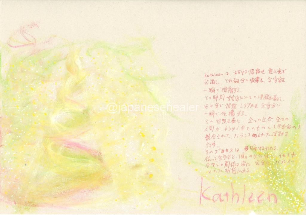 meaning of the name Kathleen by Name vibration art