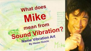 What is the meaning of the name Mike by Name Vibration?
