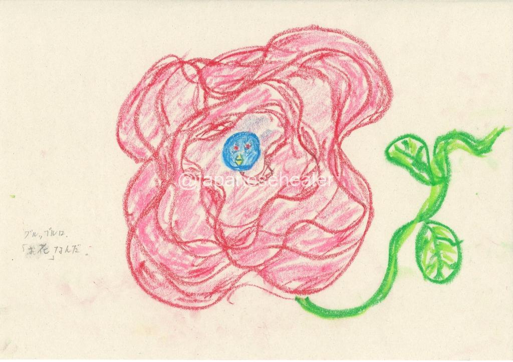 Grupplue is a flower today.