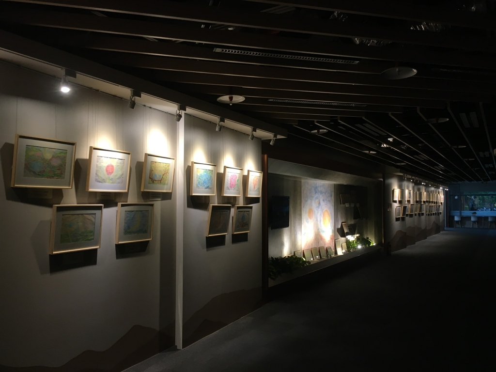 Art exhibition in National Taiwan Library at March 2020