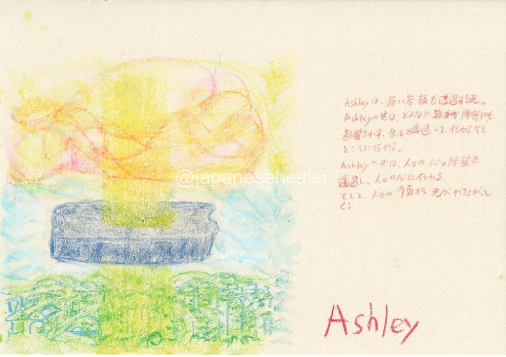 meaning of the name Ashley by Name vibration art