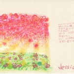 meaning of the name Jessica by Name vibration art