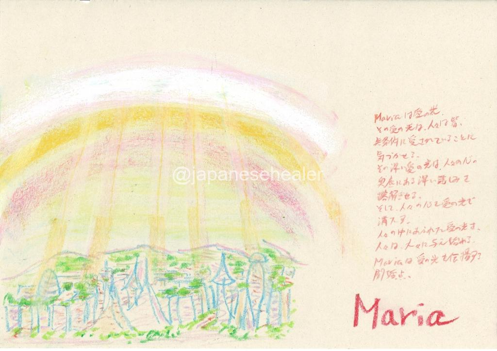 meaning of the name Maria by Name vibration art