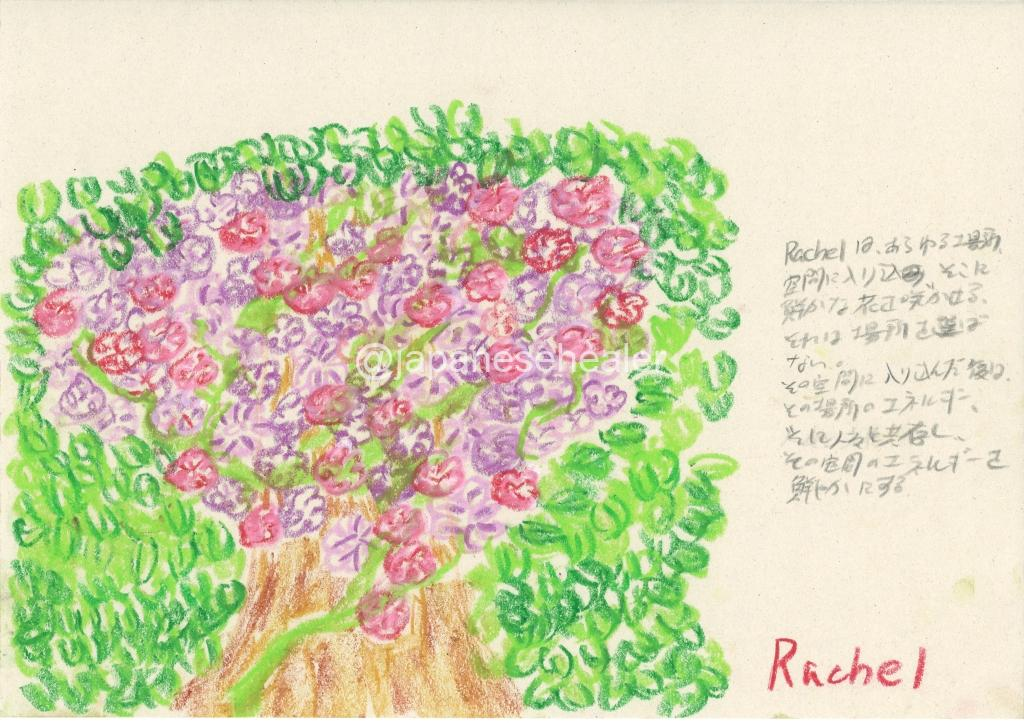 meaning of the name Rachel by Name vibration art