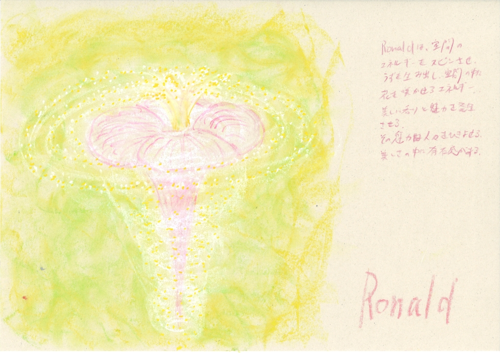 meaning of the name Ronald by Name vibration art